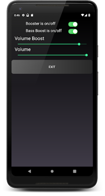 Headphones Volume Booster and Bass Booster screenshot 6
