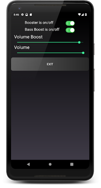 Headphones Volume Booster and Bass Booster screenshot 7