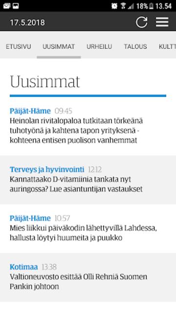 ESS – Etelä-Suomen Sanomat screenshot 2