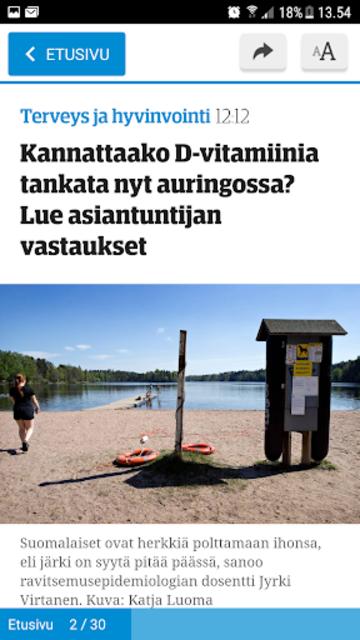 ESS – Etelä-Suomen Sanomat screenshot 4