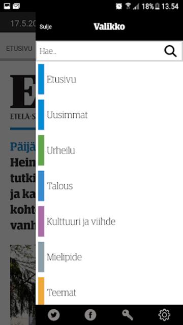 ESS – Etelä-Suomen Sanomat screenshot 5
