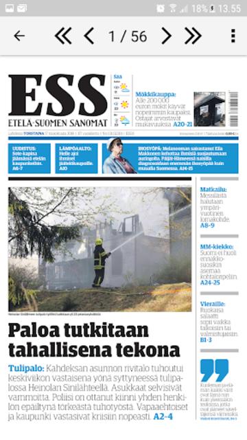 ESS – Etelä-Suomen Sanomat screenshot 6
