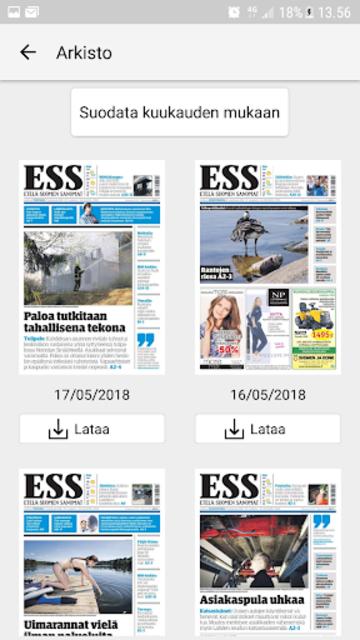 ESS – Etelä-Suomen Sanomat screenshot 8