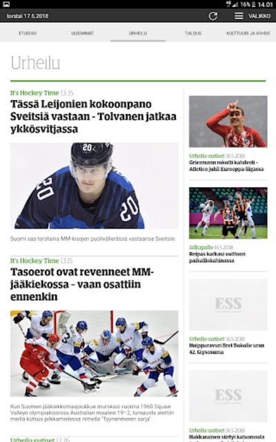 ESS – Etelä-Suomen Sanomat screenshot 11