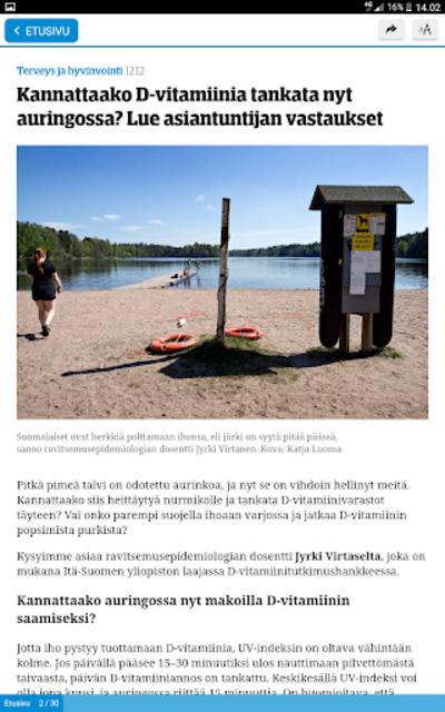 ESS – Etelä-Suomen Sanomat screenshot 12
