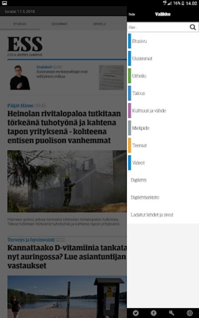 ESS – Etelä-Suomen Sanomat screenshot 13