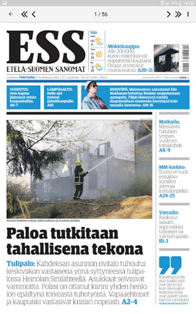 ESS – Etelä-Suomen Sanomat screenshot 14
