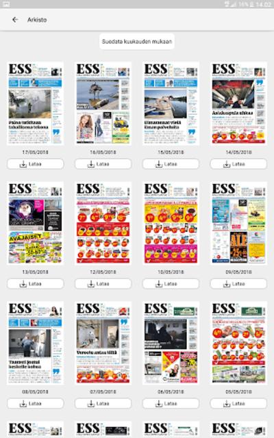 ESS – Etelä-Suomen Sanomat screenshot 16