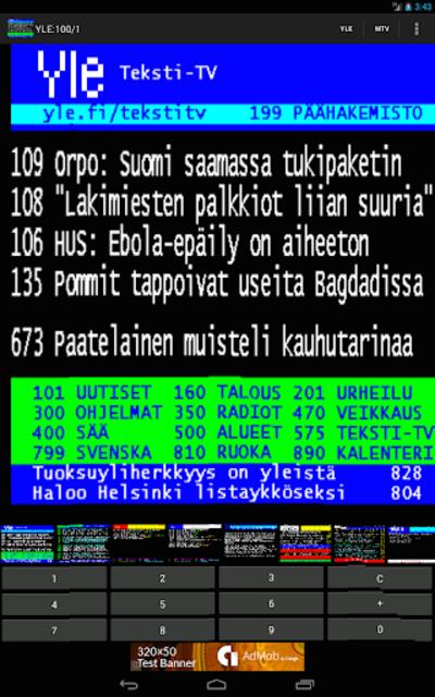 TekstiTV screenshot 6