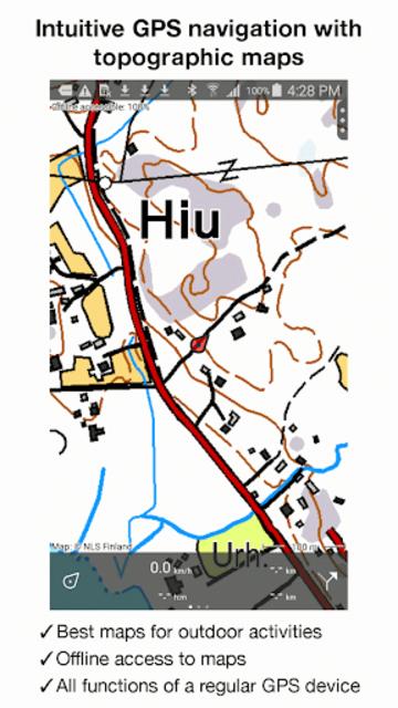 Topo GPS Finland screenshot 6