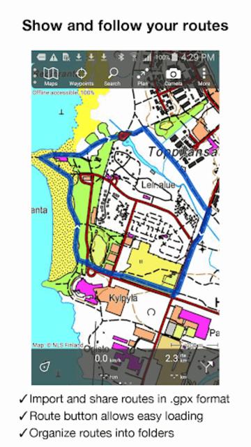 Topo GPS Finland screenshot 7