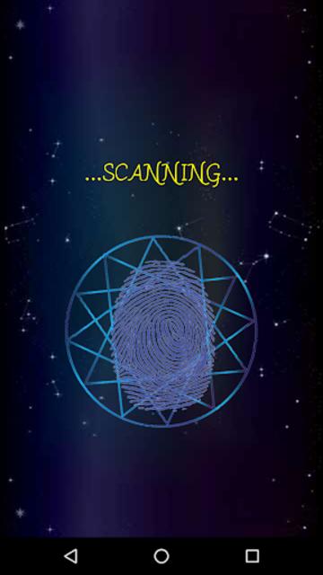 Daily Horoscope Fingerprint screenshot 13