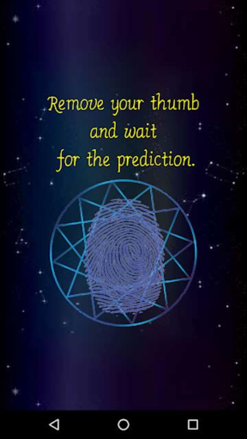 Daily Horoscope Fingerprint screenshot 14