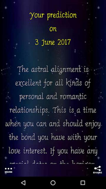 Daily Horoscope Fingerprint screenshot 15