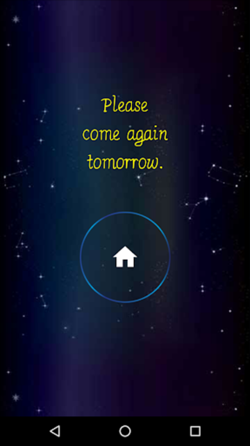 Daily Horoscope Fingerprint screenshot 16