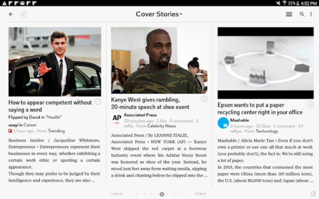 Flipboard: News For Our Time screenshot 12