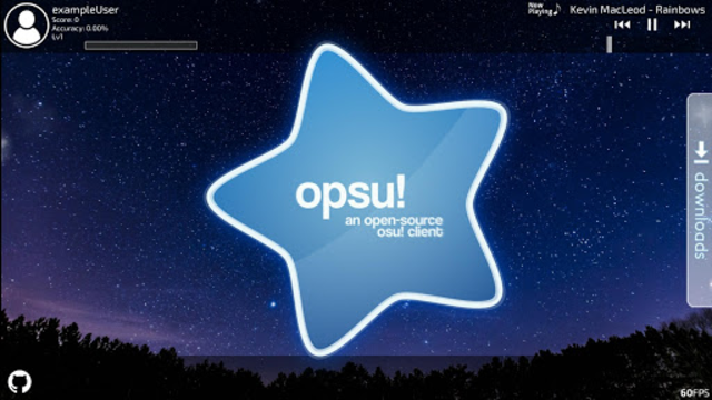 Opsu!(Beatmap player for Android) screenshot 1