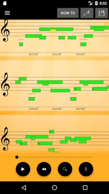 Note Recognition - Convert Music into Sheet Music screenshot 1