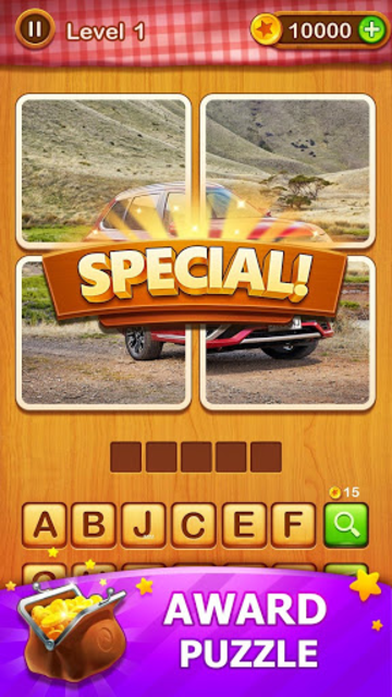 4 Pics Guess 1 Word - Word Games Puzzle screenshot 4