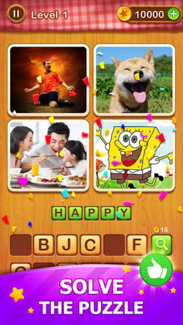 4 Pics Guess 1 Word - Word Games Puzzle screenshot 10