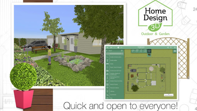 Home Design 3D Outdoor-Garden screenshot 2