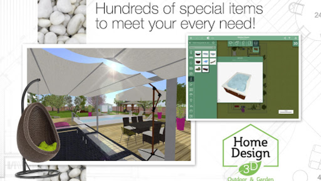 Home Design 3D Outdoor-Garden screenshot 9