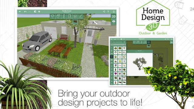Home Design 3D Outdoor/Garden screenshot 3