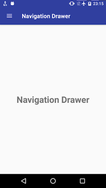 Navigation Drawer screenshot 1