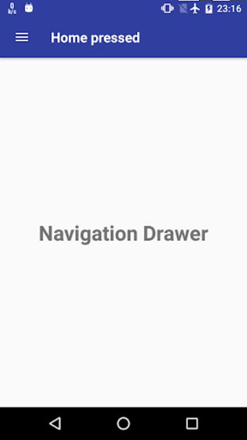 Navigation Drawer screenshot 3