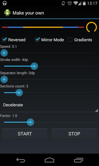 SmoothProgressBar Demo screenshot 2