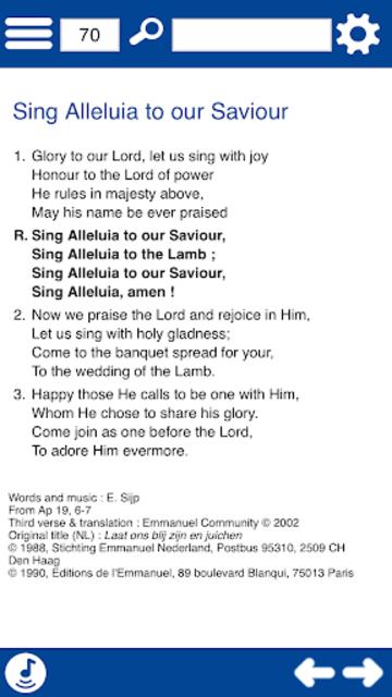 He is alive ! Songbook screenshot 10