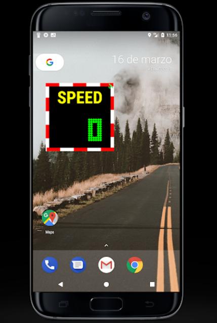 Floating Light Speedometer PRO screenshot 2