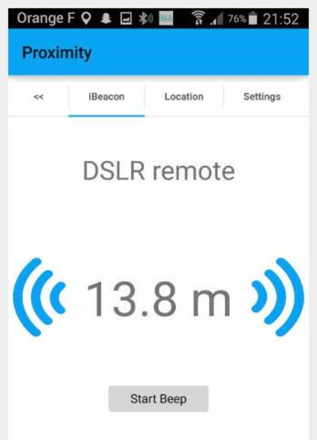 JG iTag Alarm screenshot 2