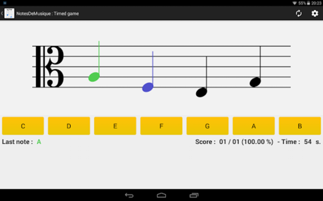 NotesDeMusique (Learning to read musical notation) screenshot 9