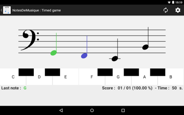 NotesDeMusique (Learning to read musical notation) screenshot 11