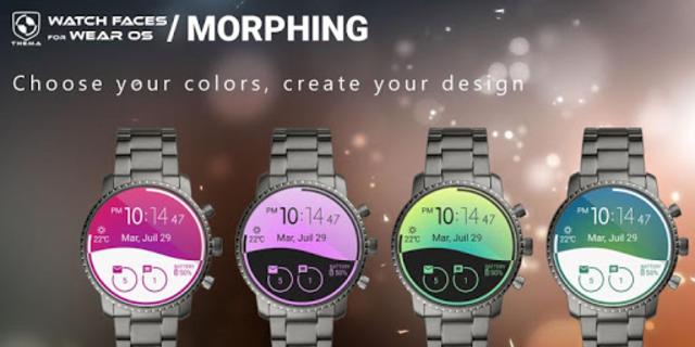 Morphing Watch Face screenshot 2