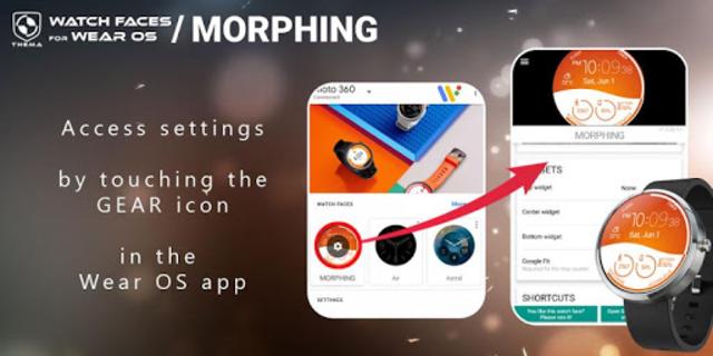 Morphing Watch Face screenshot 3