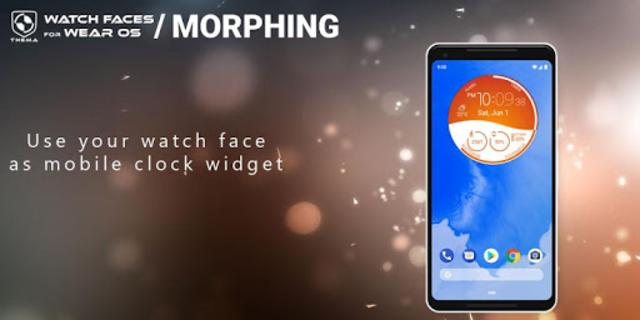 Morphing Watch Face screenshot 4