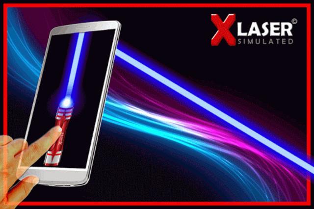 X-Laser Piano Simulated screenshot 1