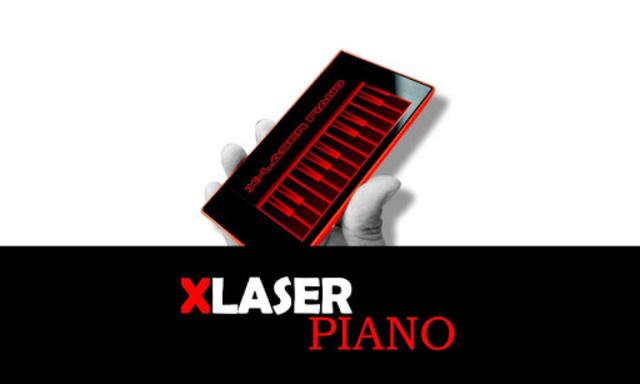 X-Laser Piano Simulated screenshot 2