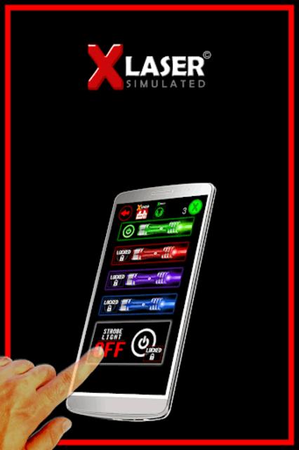 X-Laser Piano Simulated screenshot 9
