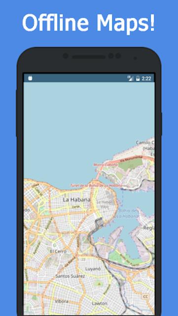 Offline Cuba Maps - Gps navigation that talks screenshot 1