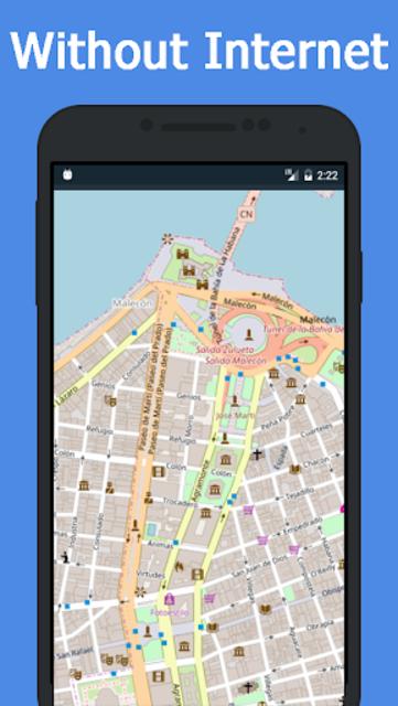 Offline Cuba Maps - Gps navigation that talks screenshot 5
