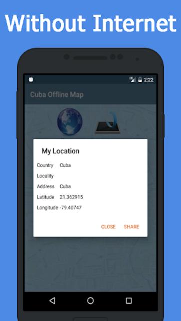 Offline Cuba Maps - Gps navigation that talks screenshot 6