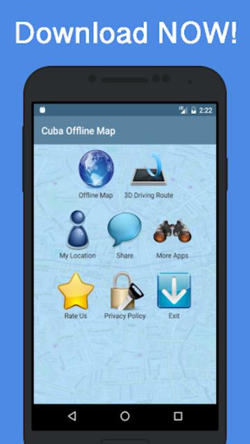 Offline Cuba Maps - Gps navigation that talks screenshot 7