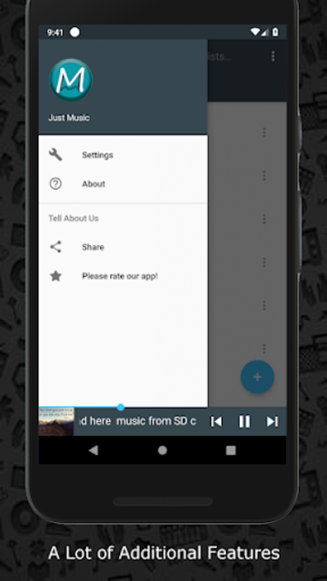 Free Music Mp3 Player SD Downloader Pro screenshot 4