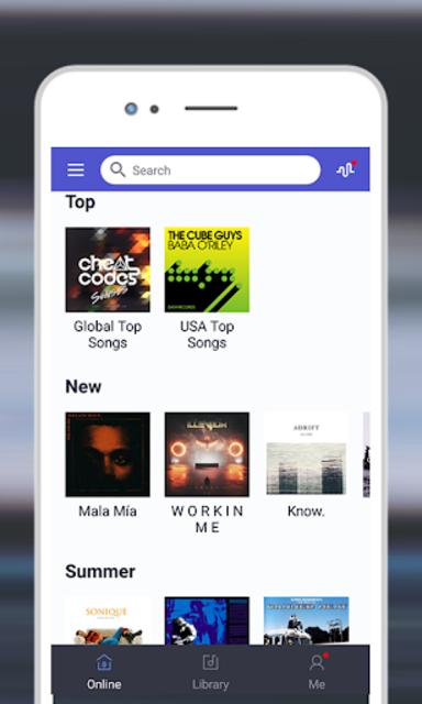Music Cloud - music player pro, unlimited music screenshot 3