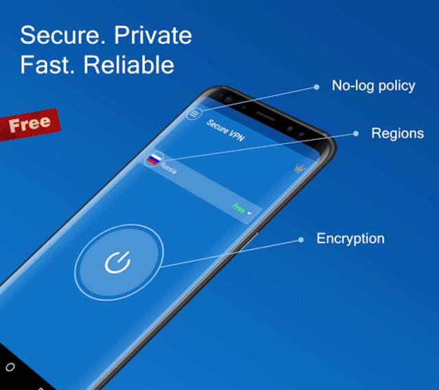Secure VPN - Free VPN Proxy, Best & Fast Shield screenshot 1