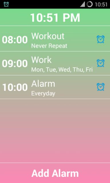 Smart Alarm Clock - Pro screenshot 3