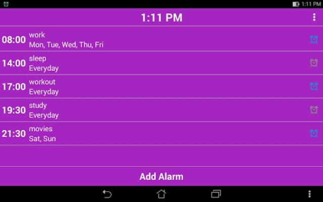 Smart Alarm Clock - Pro screenshot 13